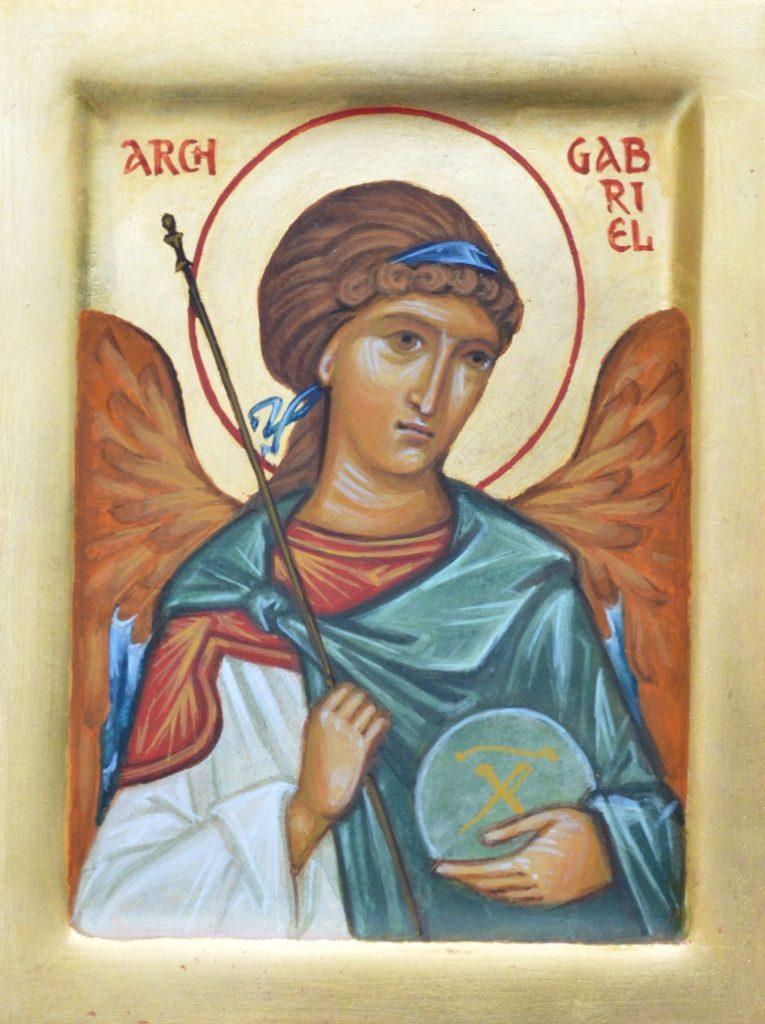 Tamara Penwell's icon of The Archangel Gabriel