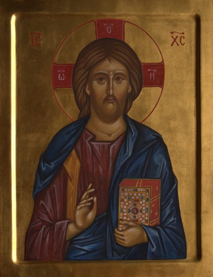 Tamara Penwell's icon of Christ Pantocrator