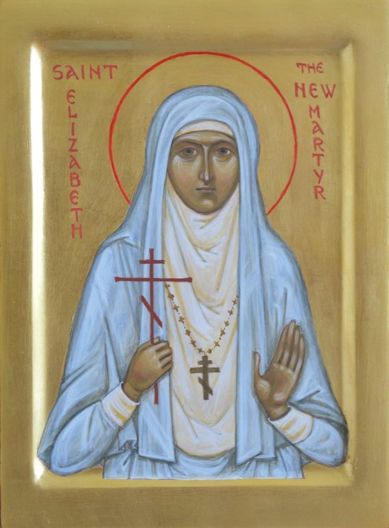 Tamara Penwell's icon of The New Martyr Elizabeth