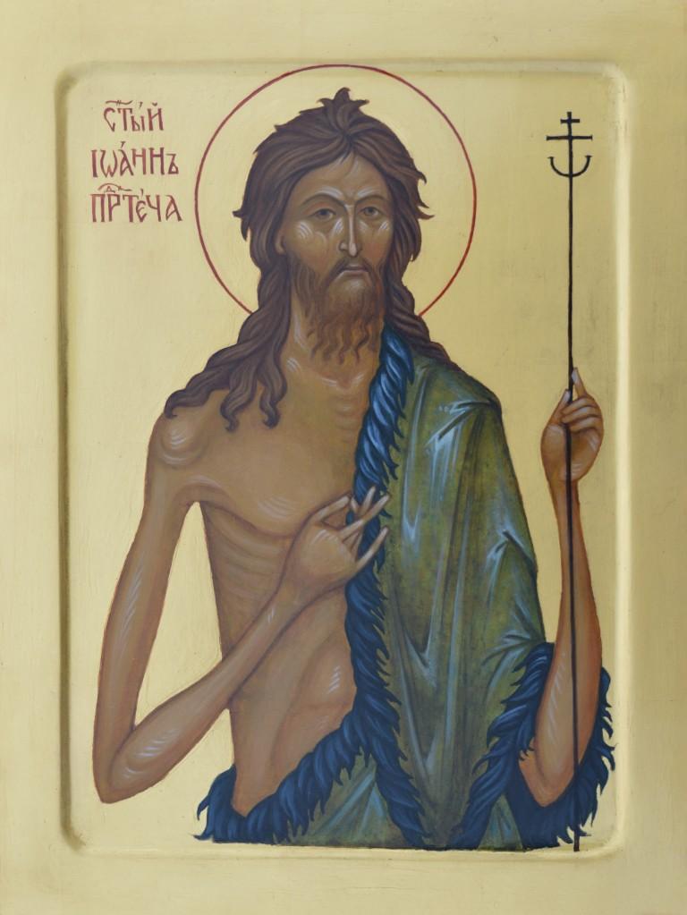 Tamara Penwell's icon of Saint John the Forerunner